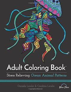 Adult Coloring Book: Ocean Animal Patterns by Blue Star Coloring http://www.amazon.com/dp/1941325262/ref=cm_sw_r_pi_dp_vxJCwb0TYBJMQ
