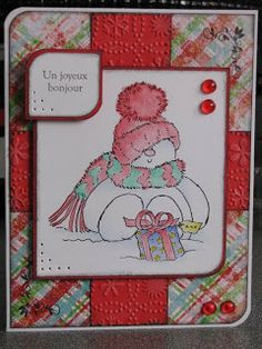Ah! La Carte... Pot Holders, Creations, Snoopy, Scrapbooking, Fictional Characters, Bonjour, Cards, Hot Pads, Potholders