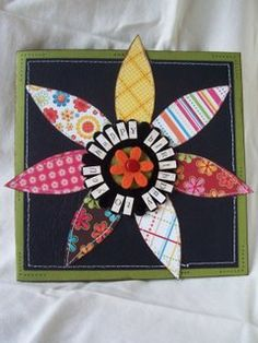 Bits & Pieces - handmade birthday card- Today's Creative Blog 2007