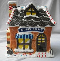 Nabisco Oreo Cookie Jar 7th in Series made by Houston Harvest in China