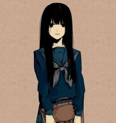 Evian#pastel #asian #girl #school #japan #draw #nice #illustration #kawaii…