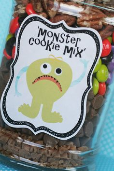 Monster cookie mix - maybe for treat bags?
