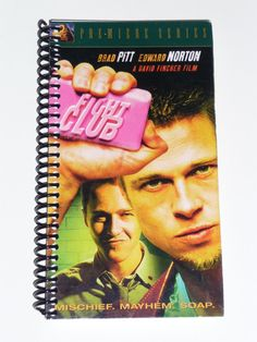 Fight Club  - VHS Movie notebook #book-lover #book-themed #bookish