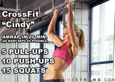 A classic CrossFit workout you can do at home! Get sweating!