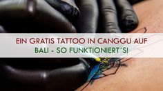 Ihr wollt ein kostenloses Tattoo? Dann ab nach Canggu auf Bali! Wie ihr dort euer gratis Tattoo bekommt, könnt ihr in diesem Artikel nachlesen.