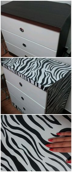 zebra print Furniture Projects, Furniture Makeover, Zebra Bathroom, Preschool Jungle, Crystal Room, Zebra Stuff, Safari Decorations, Cheetah Animal, Bedroom Stuff