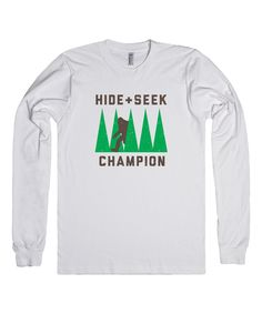 Look at this White 'Hide + Seek Champion' Long-Sleeve Tee on #zulily today!