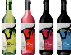 Spanish wine label by Irina Elistratova, via Behance