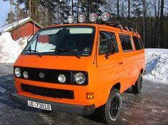 VW T3 Syncro bus, aka Vanagon (US)-the forgotten 4x4.. - Scale 4x4 ...