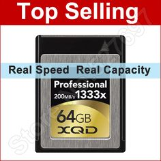 200MB/s 1333x XQD Card 32GB 64GB PCI Interface 5Gbps Memory Card for Nikon D4 D4S SONY DSLR Digital SLR Video Camera Camcorder