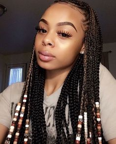 the best indian hairstyles ideas 34 Indian Hairstyles, Braided Hairstyles For Black Women, Box Braids Hairstyles, Girl Hairstyles, Gorgeous Hairstyles, Baddie Hairstyles, Protective Hairstyles, Hairdos, Summer Hairstyles
