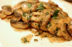 PALEO CHICKEN MARSALA RECIPE4 Organic skinless boneless chicken breast halves 4 Tbsp coconut oil 1 Cup sliced mushrooms 1/2 cup Marsla wine 1/4 cup cooking sherry 1/4 cup almond flour 1/2 tsp celtic salt 1 tsp thyme leaves 1/2 tsp dried oregano Instructions