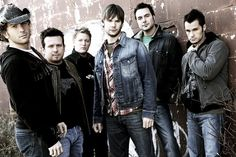 Emerson Drive - (and this is the whole group I met) at the ACM Award weekend, during the the charity motorcycle ride.