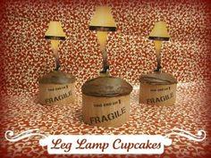 christmas story cupcakes