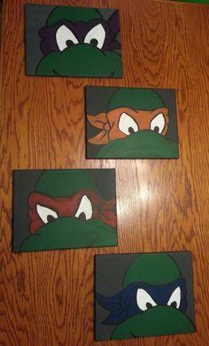 Ninja Turtle Room On Pinterest Spray Paint Dresser