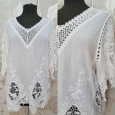 #blusa #cotone #bianca #valeria #abbigliamento