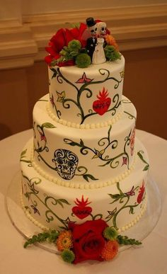 or someone else should make.. Dia de los muertos cake- if we ever get married...