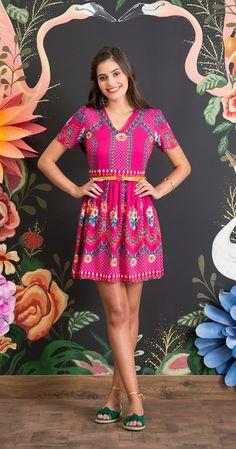 Vestido Flor de Framboesa I