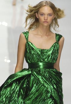 Gemma Ward - Burberry Prorsum - S/S 2005