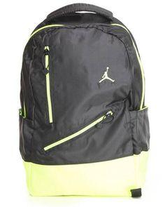 Nike Air Jordan Backpack Bag Laptop Tablet Black Green Men Women Boy Girls   Nike   3c8919d57b