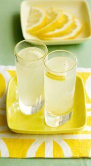 Lemon chili cocktail