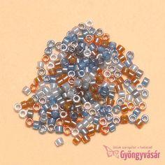 DB2068 - Szalakóta luminous vegyes japán Miyuki delica gyöngy, 11/0 (1 g) • Gyöngyvásár.hu
