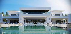 Luxueuse villa par Ark Architects - San Roque, Espagne | Construire Tendance