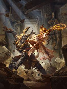 Anubis Battle
