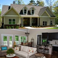 Open floor plan in Architectural Designs Exclusive House Plan 92366MX. Over 1,700 square feet. Ready when you are. Where do YOU want to build?