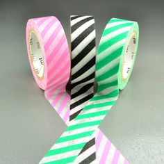 Striped Washi Tapes