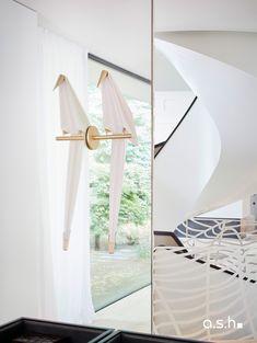 Interior Design Project by studio a.s.h. Villa Design, Modern Classic, Entrance, Living Spaces, Ceiling Lights, Interior Design, Studio, Projects, Home Decor