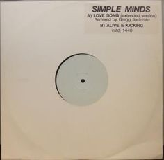 Simple Minds - Love Song | £7.35