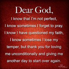 Dear God: My Prayer to You!