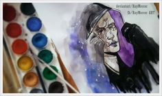 random  - watercolor trying by RayMercer.deviantart.com on @DeviantArt