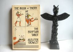 Rare Aleister Crowley  The Book of Thoth, The Egyptian Tarot
