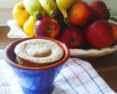 fitness desserts: Raňajkový koláčik - áno, koláčik na raňajky prosím! Alebo zdravé raňajky inak ;-)