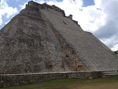 Uxmal, Ruins, Mayan Ruins, Ruinas, Maya, Yucatan, Pyramid of the Magician, Travel, Mexico