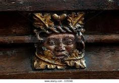 Image result for green man dartmoor churches. alamy .com