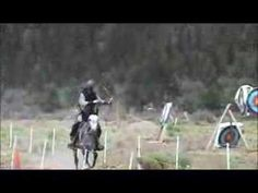 OMYGOOODNESS im so ready to do this. My problem was keeping my horse to go strieght but with an alley like that will help alot! Mounted Archery, Oregon Usa, Horde, My Horse