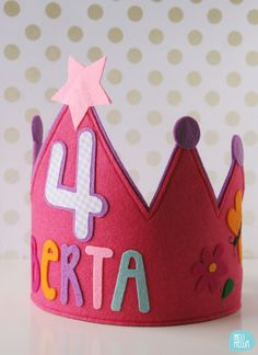 Berta's felt crown // by melimelum