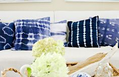 Shibori, not psychedelic tie-dye ~ Where Did That Come From Anyway? 6 Design Trends Explained via @domainehome