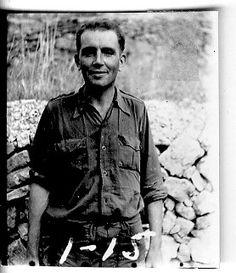 Charles Mc Ilroy (Derby, Australia, 1913). Enfermero. Llega a España en marzo de 1938 y es destinado a la XV BI, 60° Batallón. Calificado como buen enfermero y confiable en la batalla. #Historia #History #SpanishCivilWar #GuerraCivilEspañola #BrigadasInternacionales #InternationalBrigades #España #Spain #GC #Australia Derby, Australia, Social Stories, Battle, March, Faces