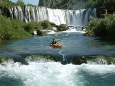 Croatia is home to some fantastic kayaking.