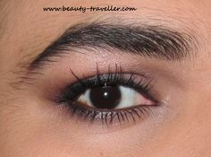 Cream and Chocolate Smokey eyes