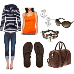 """""""weekend on the boat"""" by redflames20 on Polyvore"""