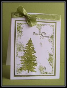 Clear Block Evergreen - Queen AudreyAnn by TrishG - Cards and Paper Crafts at Splitcoaststampers
