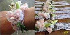 Pulseras  o corsage flores. Mayula Flores