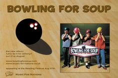 Bowling For Soup - Let's Hear it for Johnny half page Kerrang ad. Client: Music For Nations. Circa 2001. © Sean Mowle.