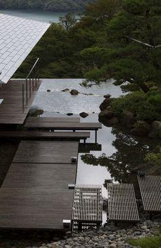 Water / Stone © Mitsumasa Fujitsuka / Kengo Kuma and Associates