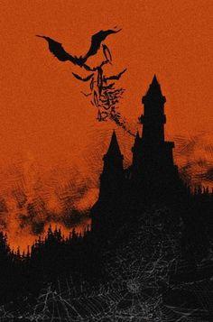 Halloween Kunst, Halloween Artwork, Halloween Horror, Vintage Halloween, Fantasy Kunst, Dark Fantasy Art, Dark Art, Arte Horror, Horror Art